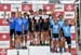 Championship podium: Team Quebec 1., Norco Factory, Team Pivot Cycle - OTE 		CREDITS:  		TITLE: 2017 XC Championships 		COPYRIGHT: Rob Jones/www.canadiancyclist.com 2017 -copyright -All rights retained - no use permitted without prior; written permission