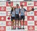 Forward Racing-Norco wins Challenge with Sean Fincham (right) doing two laps 		CREDITS:  		TITLE: 2017 XC Championships 		COPYRIGHT: Rob Jones/www.canadiancyclist.com 2017 -copyright -All rights retained - no use permitted without prior; written permissio