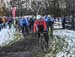 Raphael Gagne gets the hole shot 		CREDITS:  		TITLE: 2018 Canadian Cyclo-cross Championships 		COPYRIGHT: Rob Jones/www.canadiancyclist.com 2018 -copyright -All rights retained - no use permitted without prior, written permission