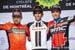 L tor: Sonny Colbrelli, Michael Matthews, Greg van Avermaet 		CREDITS:  		TITLE: Grand Prix Cycliste de Montreal, 2018 		COPYRIGHT: ?? Casey B. Gibson 2018