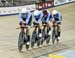 Canada (Michael Foley/Derek Gee/Adam Jamieson/Jay Lamoureux) 		CREDITS:  		TITLE: Milton Track World Cup 2018 		COPYRIGHT: ROBERT JONES/CANADIANCYCLIST.COM