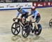 Allison Beveridge/Stephanie Roorda 		CREDITS:  		TITLE: Track World Cup Milton 2018 		COPYRIGHT: Rob Jones/www.canadiancyclist.com 2018 -copyright -All rights retained - no use permitted without prior; written permission