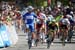 ELK GROVE, CA - MAY 17:  Fernando Gaviria (Team Quick-Step Floors) celebrates after winning stage five  		CREDITS:  		TITLE: 775137812CG00015_Cycling_13 		COPYRIGHT: 2018 Getty Images