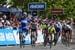 Fernando Gaviria (Team Quick-Step Floors) celebrates as he crosses the finish line ahead of Caleb Ewan to win stage five 		CREDITS:  		TITLE: 775137812CP00001_Cycling_13 		COPYRIGHT: 2018 Getty Images