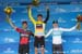 Podium 		CREDITS:  		TITLE: 2018 Amgen Tour of California 		COPYRIGHT: ?? Casey B. Gibson 2018