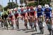Team Quick-Step Floors and Team Katusha Alpecin ride in the peloton 		CREDITS:  		TITLE: 775137806CG00040_Cycling_13 		COPYRIGHT: 2018 Getty Images