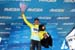 GC leader Egan Arley Bernal Gomez (Team Sky) on the podium 		CREDITS:  		TITLE: 775137810CG00178_Cycling_13 		COPYRIGHT: 2018 Getty Images