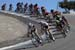 Rafal Majka (Team Bora - Hansgrohe) leads riders down the corkscrew at Laguna Seca raceway 		CREDITS:  		TITLE: 775137810CP00003_Cycling_13 		COPYRIGHT: 2018 Getty Images