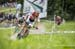 Mathieu van der Poel (Ned) Corendon-Circus leading Nino Schurter (Sui) Scott-SRAM MTB Racing 		CREDITS:  		TITLE: Val di Sole World Cup 		COPYRIGHT: Ego-Promotion