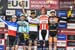 Podium: Maxime Marotte, Stephane Tempier, Nino Schurter, Mathieu van der Poel, Jordan Sarrou 		CREDITS:  		TITLE: 2018 UCI World Cup Albstadt 		COPYRIGHT: Rob Jones/www.canadiancyclist.com 2018 -copyright -All rights retained - no use permitted without pr