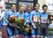 Women Team Pursuit, Bronze medalists 		CREDITS:  		TITLE:  		COPYRIGHT: Guy Swarbrick/TLP 2018