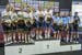 Women Team Pursuit podium 		CREDITS:  		TITLE:  		COPYRIGHT: