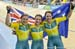 Australia celebrates 		CREDITS:  		TITLE: Commonwealth Games, Gold Coast 2018 		COPYRIGHT: Rob Jones/www.canadiancyclist.com 2018 -copyright -All rights retained - no use permitted without prior; written permission