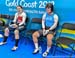 Lauriane Genest (Canada) and Lauren Bate (England) wait to start 		CREDITS:  		TITLE: Commonwealth Games, Gold Coast 2018 		COPYRIGHT: Rob Jones/www.canadiancyclist.com 2018 -copyright -All rights retained - no use permitted without prior; written permiss