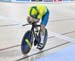 Matt Glaetzer set a new games record 		CREDITS:  		TITLE: Commonwealth Games, Gold Coast 2018 		COPYRIGHT: Cycling, Commonwealth Games, Australia, Gold Coast