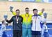 Ed Dawkins, Matt Glaetzer, Callum Skinner 		CREDITS:  		TITLE: Commonwealth Games, Gold Coast 2018 		COPYRIGHT: Cycling, Commonwealth Games, Australia, Gold Coast