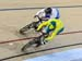 SemiFinal: Jack Carlin (Scotland) vs Jacob Schmid (Australia) 		CREDITS:  		TITLE: Commonwealth Games, Gold Coast 2018 		COPYRIGHT: Rob Jones/www.canadiancyclist.com 2018 -copyright -All rights retained - no use permitted without prior; written permission