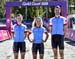 Haley Smith, Emily Batty, Leandre Bouchard 		CREDITS:  		TITLE: Commonwealth Games, Gold Coast 2018 		COPYRIGHT: Rob Jones/www.canadiancyclist.com 2018 -copyright -All rights retained - no use permitted without prior; written permission