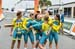 Team Australia celebrate 		CREDITS:  		TITLE: Commonwealth Games, Gold Coast 2018 		COPYRIGHT: Rob Jones/www.canadiancyclist.com 2018 -copyright -All rights retained - no use permitted without prior; written permission