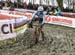 Nicholas Diniz (Can) starts to wobble in teh ruts 		CREDITS:  		TITLE: 2018 Cyclo-cross World Championships, Valkenburg NED 		COPYRIGHT: Rob Jones/www.canadiancyclist.com 2018 -copyright -All rights retained - no use permitted without prior; written permi