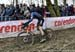 Denzel Stephenson (USA) 		CREDITS:  		TITLE: 2018 Cyclo-cross World Championships, Valkenburg NED 		COPYRIGHT: Rob Jones/www.canadiancyclist.com 2018 -copyright -All rights retained - no use permitted without prior; written permission
