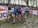 Elle Anderson and Nikki Brammeier mixing it up in the corner 		CREDITS:  		TITLE: 2018 Cyclo-cross World Championships, Valkenburg NED 		COPYRIGHT: Rob Jones/www.canadiancyclist.com 2018 -copyright -All rights retained - no use permitted without prior; wr
