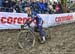 Pauline Ferrand Prevot (Fra) 		CREDITS:  		TITLE: 2018 Cyclo-cross World Championships, Valkenburg NED 		COPYRIGHT: Rob Jones/www.canadiancyclist.com 2018 -copyright -All rights retained - no use permitted without prior; written permission