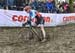 Christel Ferrier Bruneau (Can) 		CREDITS:  		TITLE: 2018 Cyclo-cross World Championships, Valkenburg NED 		COPYRIGHT: Rob Jones/www.canadiancyclist.com 2018 -copyright -All rights retained - no use permitted without prior; written permission