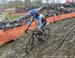 Mical Dyck (Can) 		CREDITS:  		TITLE: 2018 Cyclo-cross World Championships, Valkenburg NED 		COPYRIGHT: Rob Jones/www.canadiancyclist.com 2018 -copyright -All rights retained - no use permitted without prior; written permission