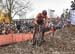 Mathieu van der Poel (Ned) 		CREDITS:  		TITLE: 2018 Cyclo-cross World Championships, Valkenburg NED 		COPYRIGHT: Rob Jones/www.canadiancyclist.com 2018 -copyright -All rights retained - no use permitted without prior; written permission