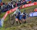 Early leaders Evie Richards and Harriet Harnden 		CREDITS:  		TITLE: 2018 Cyclo-cross World Championships, Valkenburg NED 		COPYRIGHT: Rob Jones/www.canadiancyclist.com 2018 -copyright -All rights retained - no use permitted without prior; written permiss