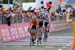 Domenico Pozzovivo leads home Tom Dumoulin and Chris Froome 		CREDITS:  		TITLE: Giro d