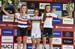 Evie Richards, Sina Frei, Ronja Eibl 		CREDITS:  		TITLE: 2018 La Bresse MTB World Cup 		COPYRIGHT: Rob Jones/www.canadiancyclist.com 2018 -copyright -All rights retained - no use permitted without prior; written permission