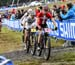 Langvad, Neff and Benko 		CREDITS:  		TITLE: 2018 La Bresse MTB World Cup XCC 		COPYRIGHT: Rob Jones/www.canadiancyclist.com 2018 -copyright -All rights retained - no use permitted without prior; written permission