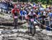 Emily Batty (Can) Trek Factory Racing XC and Annika Langvad (Den) Specialized Racing 		CREDITS:  		TITLE: 2018 La Bresse MTB World Cup 		COPYRIGHT: Rob Jones/www.canadiancyclist.com 2018 -copyright -All rights retained - no use permitted without prior; wr