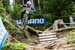 Aaron Gwin (USA) The YT Mob 		CREDITS:  		TITLE: Leogang DH World Cup 		COPYRIGHT: Fraser Britton