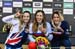Tahnee Seagrave, Rachel Atherton, Myriam Nicole 		CREDITS:  		TITLE: 2018 MTB World Championships, Lenzerheide, Switzerland 		COPYRIGHT: Rob Jones/www.canadiancyclist.com 2018 -copyright -All rights retained - no use permitted without prior; written permi