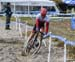 Peter Disera going sideways in the sand 		CREDITS:  		TITLE: 2018 Pan American Continental Cyclo-cross Championships 		COPYRIGHT: Rob Jones/www.canadiancyclist.com 2018 -copyright -All rights retained - no use permitted without prior, written permission
