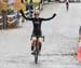 Lisa Holmgren wins 		CREDITS:  		TITLE: 2018 Pan Am Masters CX Championships 		COPYRIGHT: Robert Jones/CanadianCyclist.com, all rights retained
