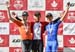 Elite Mens podium: l to r -  Robert Britton, Svein Tuft, Alexander Cataford 		CREDITS:  		TITLE: Canadian Road National Championships - ITT 		COPYRIGHT: ROB JONES/CANADIAN CYCLIST