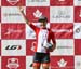 U23 winner Sara Poidevin 		CREDITS:  		TITLE: Road National Championships 		COPYRIGHT: Rob Jones/www.canadiancyclist.com 2018 -copyright -All rights retained - no use permitted without prior; written permission