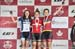 l to r: Magdeleine Vallieres Mill, Simone Boilard, Elizabeth Gin 		CREDITS:  		TITLE: Canadian Road National Championships - Criterium 		COPYRIGHT: Rob Jones/www.canadiancyclist.com 2018 -copyright -All rights retained - no use permitted without prior; wr
