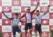 U23 podium: Noah Simms, Ed Walsh, Connor Toppings 		CREDITS:  		TITLE: Canadian Road National Championships - RR 		COPYRIGHT: Rob Jones/www.canadiancyclist.com 2018 -copyright -All rights retained - no use permitted without prior; written permission