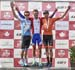 Podium: l to r - Ben Perry, Antoine Duchesne, Nigel Ellsay 		CREDITS:  		TITLE: Canadian Road National Championships - RR 		COPYRIGHT: Rob Jones/www.canadiancyclist.com 2018 -copyright -All rights retained - no use permitted without prior; written permiss