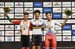 Oliveira, Ganna, Evtushebko 		CREDITS:  		TITLE: 2018 Track World Championships, Apeldoorn NED 		COPYRIGHT: Rob Jones/www.canadiancyclist.com 2018 -copyright -All rights retained - no use permitted without prior; written permission