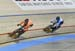Braspennincx beats Amelia Walsh in the 1/16 final 		CREDITS:  		TITLE: 2018 Track World Championships, Apeldoorn NED 		COPYRIGHT: Rob Jones/www.canadiancyclist.com 2018 -copyright -All rights retained - no use permitted without prior; written permission