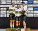 Stephanie Morton, Kristina Vogel, Pauline Sophie Grabosch 		CREDITS:  		TITLE: 2018 Track World Championships, Apeldoorn NED 		COPYRIGHT: Rob Jones/www.canadiancyclist.com 2018 -copyright -All rights retained - no use permitted without prior; written perm