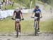 Juliette Larose-Gingras 2nd and Julia Hill  3rd 		CREDITS:  		TITLE: 2018 MTB XC Championships 		COPYRIGHT: Rob Jones/www.canadiancyclist.com 2018 -copyright -All rights retained - no use permitted without prior; written permission