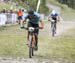 Evan Guthrie with U23 rider Sean Fincham chasing him down 		CREDITS:  		TITLE: 2018 MTB XC Championships 		COPYRIGHT: Rob Jones/www.canadiancyclist.com 2018 -copyright -All rights retained - no use permitted without prior; written permission