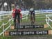 Jennifer Jackson (AWI Racing p/b The Crank and Sprocket) took the lead for 1 lap 		CREDITS:  		TITLE: 2019 Canadian National Cyclocross Championships 		COPYRIGHT: Robert Jones/Canadiancyclist.com